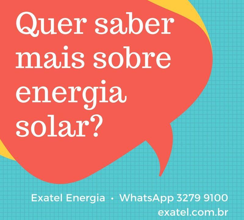 Quer saber mais sobre energia solar?