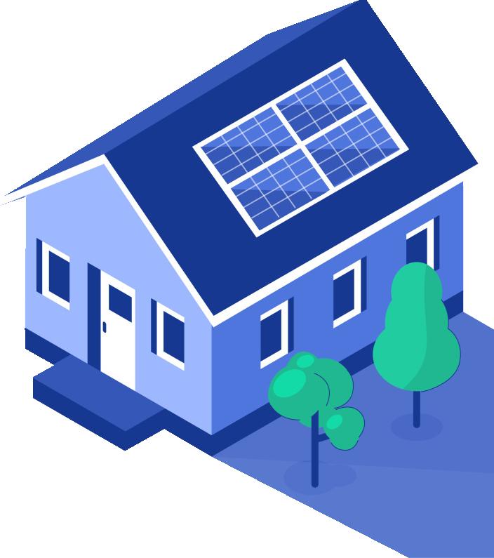 Exatel Solar gera economia na conta de energia para sua residência e preserva o meio ambiente