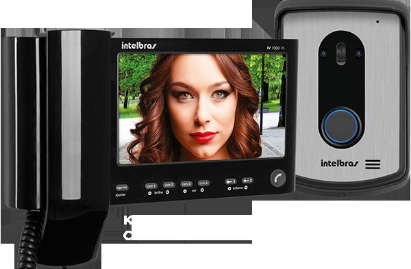 Kit Videoporteiro com monofone IV 7010 HS