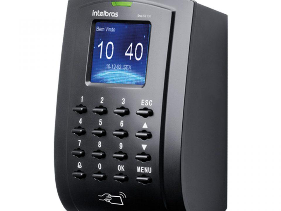 Controlador de acesso SS Duo 230 Intelbras
